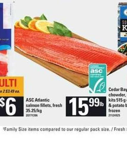 Asc Atlantic Salmon Fillets