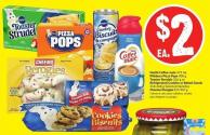 Nestlé Coffee-mate 473 mL Pillsbury Pizza Pops 400 g Toaster Strudels 326 g or Refrigerated Cookies or Baked Goods 318-468 g Selected Varieties Cheemo Perogies 815-907 g