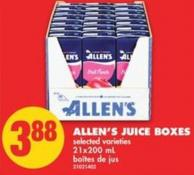 Allen's Juice Boxes - 21x200 mL