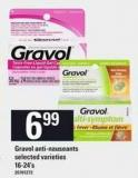 Gravol Anti-nauseants - 16-24's