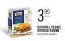 Original Veggie Ground Round