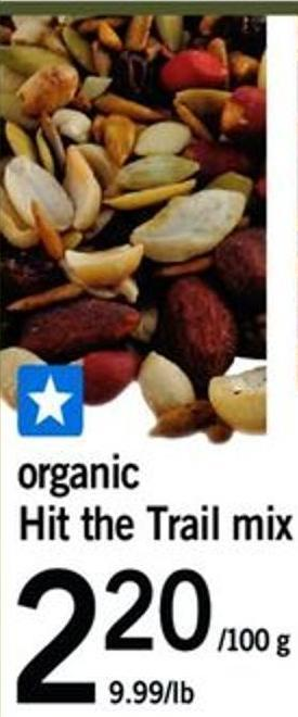Organic Hit The Trail Mix