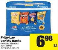 Frito-lay Variety Packs - 394-560 g