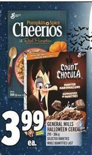 General Mills Halloween Cereal