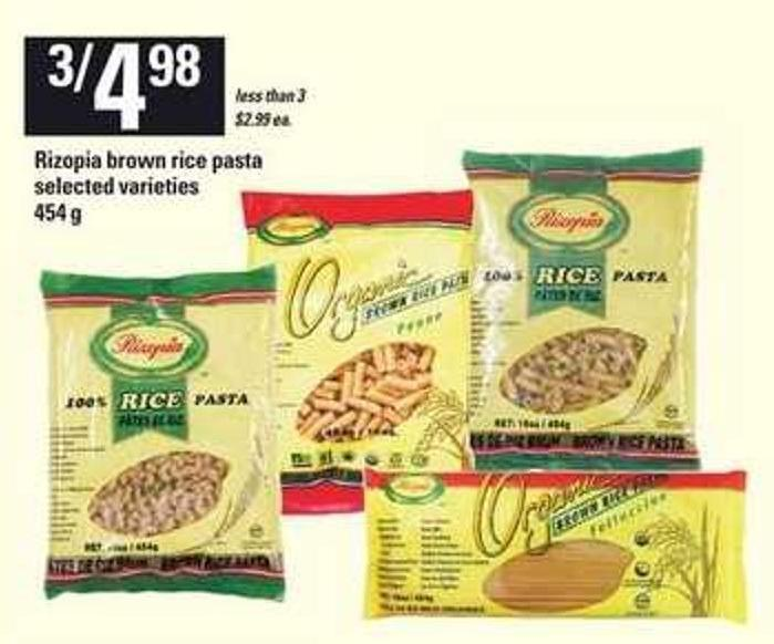 Rizopia Brown Rice Pasta - 454 g