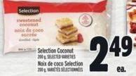 Selection Coconut