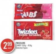 Twizzlers Candy 300g - 454g