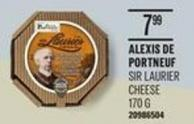Alexis De Portneuf Sir Laurier Cheese - 170 G