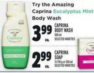 Caprina Body Wash 500 ml