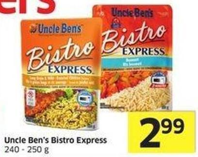 Uncle Ben's Bistro Express 240-250 g