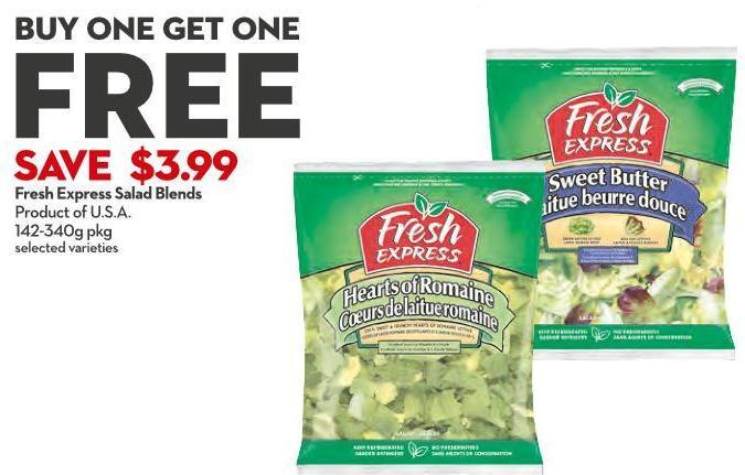 Fresh Express Salad Blends Product of U.S.A.