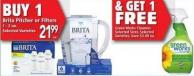 Brita Pitcher Or Filters 1 - 3 Un.