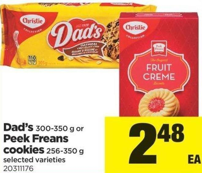 Dad's - 300-350 G Or Peek Freans Cookies - 256-350 G