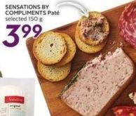 Sensations By Compliments Pâté Selected 150 g