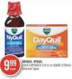 Dayquil Nyquil Cold (16's) or Liquid (236ml)