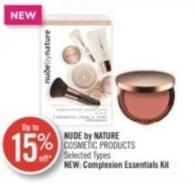 Nude By Nature Cosmetic Products