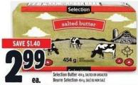 Selection Butter
