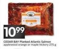 Cedar Bay Planked Atlantic Salmon