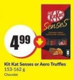Kit Kat Senses or Aero Truffles 153-162 g