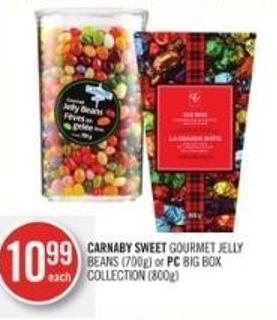Carnaby Sweet Gourmet Jelly Beans (700g) or PC Big Box Collection (800g)
