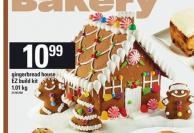 Gingerbread House Ez Build Kit - 1.01 Kg