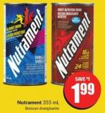 Nutrament 355 mL