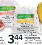 PC Organics Red - Yellow Or Russet Potatoes - 3 Lb