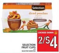 Selection Fruit Cups