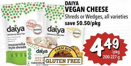 Daiya Vegan Cheese 200-227 g
