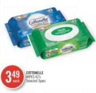 Cottonelle Wipes 42's