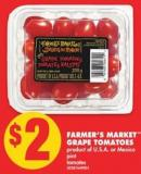 Farmer's Market Grape Tomatoes - Pint