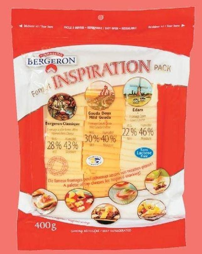 Bergeron Inspiration Pack - 400 G