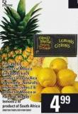 Avocado - 6's - Pineapples - No Name Naturally Imperfect Limes - 2 Lb Or Farmer's Market Lemons - 2 Lb