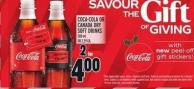 Coca-cola Or Canada Dry Soft Drinks 500 ml Or 2.29 Ea.