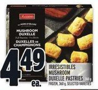 Irresistibles Mushroom Duxelle Pastries