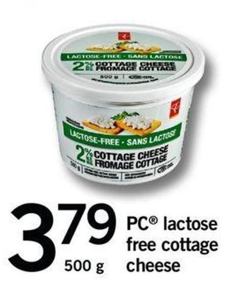 PC Lactose Free Cottage Cheese