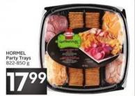 Hormel Party Trays