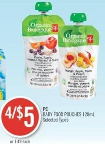 PC Baby Food Pouches 128ml