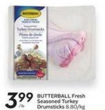 Butterball Fresh Seasoned Turkey Drumsticks