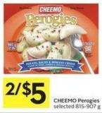 Cheemo Perogies Selected - 815 - 907 g
