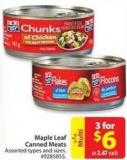 Maple Leaf Canned Meats
