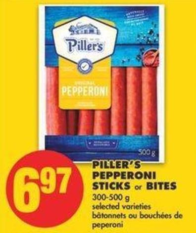 Piller's Pepperoni Sticks Or Bites - 300-500 G