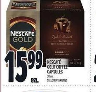 Nescafé Gold Coffee Capsules