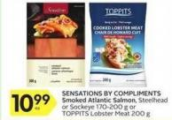 Sensations By Compliments Smoked Atlantic Salmon - Steelhead