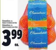 Clementines 2 Lb