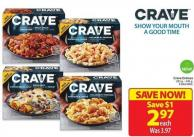 Crave Entrees 283 g - 340 g