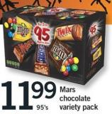 Mars Chocolate Variety Pack - 95's
