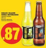 Grace Island Soda Beverages - 355 mL