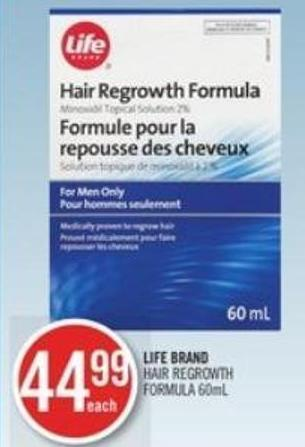 Life Brand   Life Brand Hair Regrowth Formula