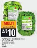 PC Organics Mixed Salad Greens - 142 g